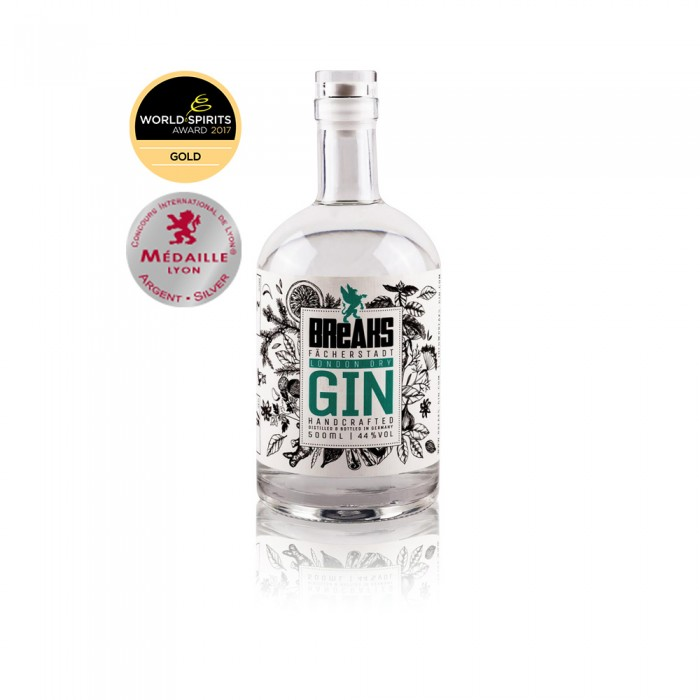 Breaks Dry Gin Medaille