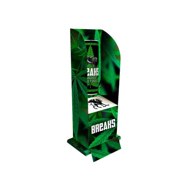 Breaks Cannabis Gin Tonic Display