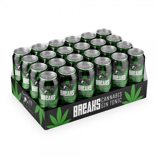 Breaks Cannabis Gin Tonic Dosen