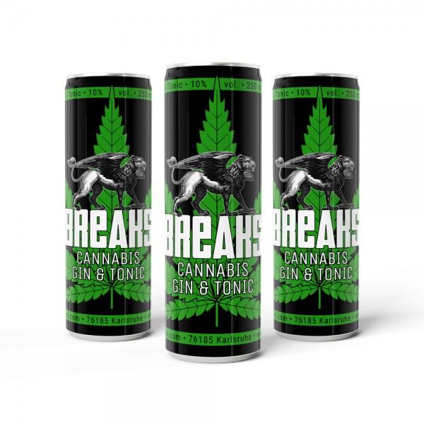 Breaks Cannabis Gin Tonic Dose
