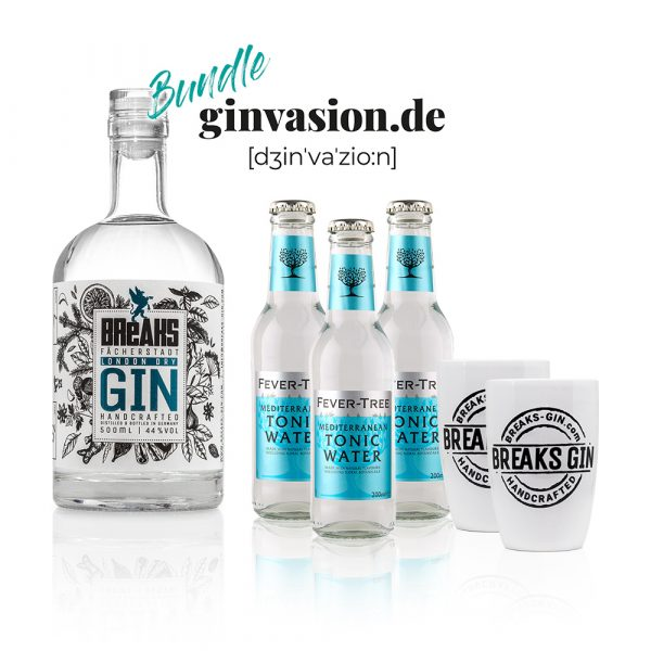 Breaks X Ginvasion Genie Er Set Gin Tonic Becher