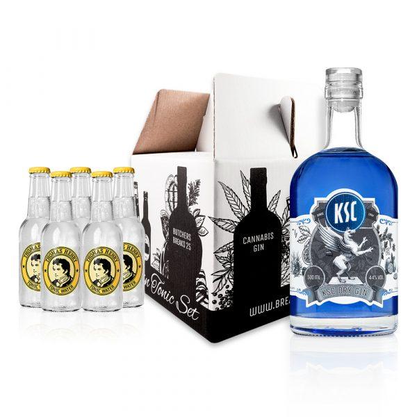 Genie Er Set Ksc Gin 500ml Gin Tonic