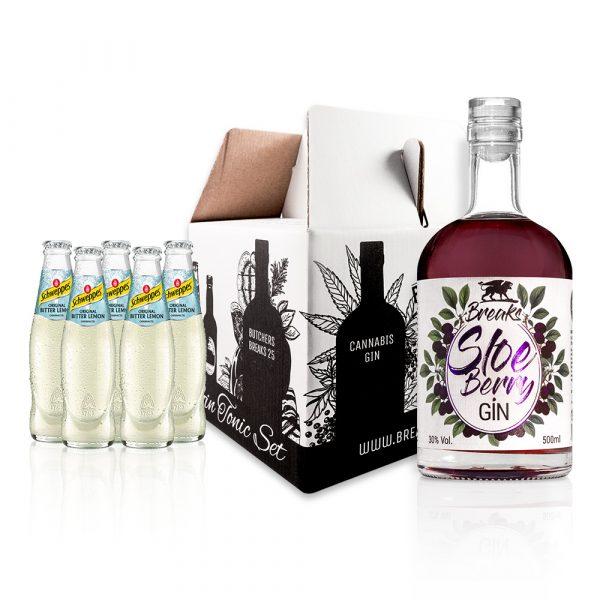 Genie Er Set Winter Gin 500ml Gin Tonic