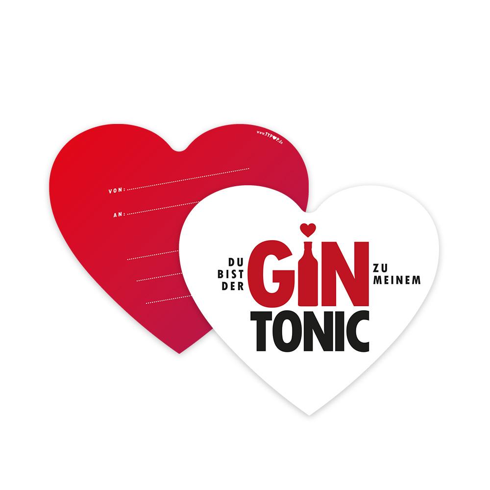 2021 Gin Tonic Set Karten
