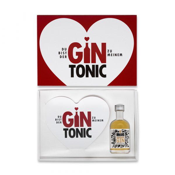 Geschenk Set Gin Tonic Herzkarte Little Breaks Gin Amp Geschenkbox