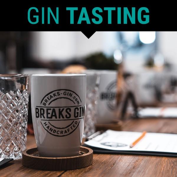 Breaks Gin Onlinetasting